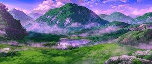 Rating: Safe Score: 36 Tags: clouds grass nobody original reflection scenic sennotane signed sky tree water User: RyuZU