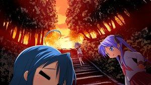 Rating: Safe Score: 33 Tags: hiiragi_kagami hiiragi_tsukasa izumi_konata lucky_star stairs User: 秀悟