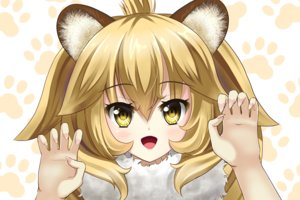 Rating: Safe Score: 24 Tags: animal_ears anthropomorphism blonde_hair catgirl kemono_friends lion_(kemono_friends) short_hair tagme_(artist) yellow_eyes User: luckyluna
