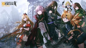 Rating: Safe Score: 26 Tags: animal_ears anthropomorphism ar-15_(girls_frontline) blonde_hair blue_eyes brown_hair fn-49_(girls_frontline) girls_frontline gloves green_eyes group gun hat idw_(girls_frontline) infukun jpeg_artifacts long_hair m1911_(girls_frontline) m4a1_(girls_frontline) pantyhose pink_hair ponytail purple_eyes red_eyes ruins short_hair shorts tail twintails type_64_(girls_frontline) weapon User: BattlequeenYume