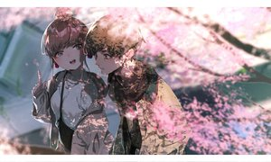 Rating: Safe Score: 58 Tags: cherry_blossoms flowers male original rolua User: FormX