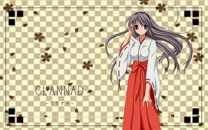 Rating: Safe Score: 47 Tags: blue_eyes clannad gray_hair headband japanese_clothes jpeg_artifacts long_hair photoshop sakagami_tomoyo User: meccrain