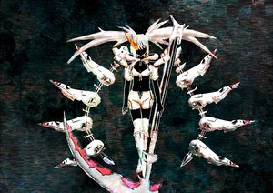 Rating: Safe Score: 65 Tags: black_rock_shooter scythe tagme twintails weapon white_rock_shooter User: gameaddict1