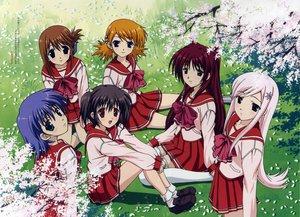 Rating: Safe Score: 15 Tags: aquaplus komaki_manaka kousaka_tamaki leaf lucy_maria_misora megami sasamori_karin scan school_uniform to_heart to_heart_2 tonami_yuma yuzuhara_konomi User: Oyashiro-sama