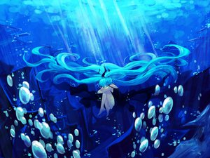 Rating: Safe Score: 85 Tags: bubbles deep-sea_girl_(vocaloid) hatsune_miku lyrah777 twintails underwater vocaloid User: FormX