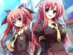 Rating: Safe Score: 84 Tags: akatsuki_no_goei game_cg nikaidoh_aya nikaidoh_reika syangrila tomose_shunsaku twins User: 秀悟