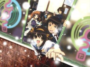 Rating: Safe Score: 55 Tags: asahina_mikuru group koizumi_itsuki kyon maid male nagato_yuki suzumiya_haruhi suzumiya_haruhi_no_yuutsu User: pantu