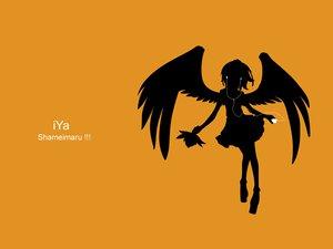 Rating: Safe Score: 16 Tags: ipod parody shameimaru_aya silhouette touhou User: grudzioh