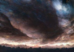 Rating: Safe Score: 141 Tags: bou_nin clouds landscape original scenic sky User: Flandre93