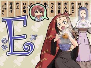 Rating: Safe Score: 2 Tags: hagiwara_yukiho idolmaster minase_iori miura_azusa User: Kunimura