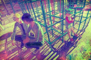 Rating: Safe Score: 74 Tags: koiwai_yotsuba male yanda yotsubato! zain User: HawthorneKitty