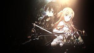 Rating: Safe Score: 162 Tags: dani17k kirigaya_kazuto sword sword_art_online weapon yuuki_asuna User: C4R10Z123GT