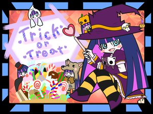 Rating: Safe Score: 54 Tags: halloween kirby kirby_(character) mother panty_&_stocking_with_garterbelt stocking_(character) User: HawthorneKitty