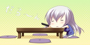 Rating: Safe Score: 41 Tags: applique chibi game_cg tagme_(character) tasogare_no_saki_ni_noboru_ashita User: Wiresetc