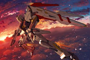 Rating: Safe Score: 111 Tags: gun mecha mobile_suit_gundam sky starlight_(stack) tagme weapon User: opai