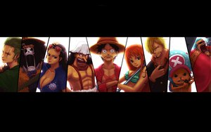 Rating: Safe Score: 50 Tags: brook franky monkey_d_luffy nami nico_robin one_piece roronoa_zoro sanji tony_tony_chopper usopp User: darporfe