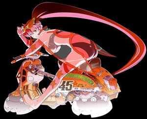 Rating: Safe Score: 13 Tags: tengen_toppa_gurren_lagann transparent yoko_littner User: 秀悟