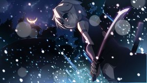 Rating: Safe Score: 52 Tags: asane_bou katana moon night short_hair sword utau weapon yumeno_mikan User: Konazakura