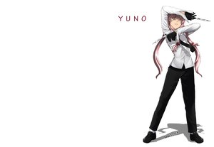 Rating: Safe Score: 82 Tags: gasai_yuno gloves hana_keijou_(hana-chan) long_hair mirai_nikki pink_eyes pink_hair watermark weapon white User: aoyoru