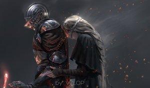Rating: Safe Score: 206 Tags: armor dark_souls fire_keeper jpeg_artifacts long_hair mask watermark wlop User: RyuZU