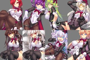 Rating: Questionable Score: 113 Tags: aisha_(elsword) aqua_eyes ara_haan ass blonde_hair bow breasts brown_hair cameltoe cleavage collar elesis_(elsword) elsword erect_nipples eve_(elsword) fi-san foxgirl garter gloves gray_hair green_eyes green_hair hat long_hair lu_(elsword) multiple_tails navel orange_eyes pantyhose pointed_ears purple_eyes purple_hair red_eyes red_hair rena_(elsword) ribbons rose_(elsword) skintight stockings tail tattoo thighhighs transparent twintails white_hair yellow_eyes User: otaku_emmy