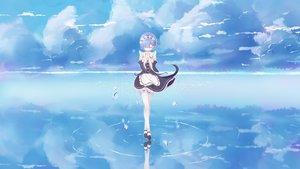 Rating: Safe Score: 109 Tags: maid rem_(re:zero) re:zero_kara_hajimeru_isekai_seikatsu short_hair tagme_(artist) User: RyuZU