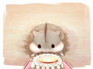 Rating: Safe Score: 20 Tags: animal apple cake food fruit nobody original yutaka_kana User: otaku_emmy