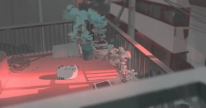 Rating: Safe Score: 182 Tags: animal building cat city original pusheen rooftop snatti sunset tree User: otaku_emmy