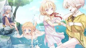 Rating: Safe Score: 41 Tags: all_male animal blonde_hair blue_eyes blue_hair game_cg hinata_(hinata_no_tsuki) hinata_no_tsuki ibara_(hinata_no_tsuki) konomi_(hinata_no_tsuki) long_hair male pink_eyes pointed_ears ponytail short_hair trap tsukiyo_(hinata_no_tsuki) turtle water User: C4R10Z123GT