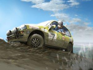 Rating: Safe Score: 16 Tags: car jetbrick original signed User: RyuZU