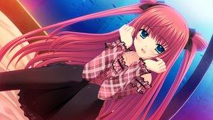 Rating: Safe Score: 92 Tags: blue_eyes game_cg long_hair nishimata_aoi pantyhose red_hair sekai_seifuku_kanojo world_wide_love yamino_yumeko User: Wiresetc