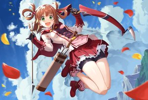 Rating: Safe Score: 36 Tags: bike_shorts bow_(weapon) inosaki_rino princess_connect! shorts weapon yansun User: Fepple