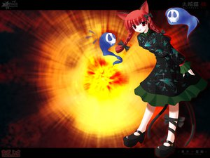 Rating: Safe Score: 13 Tags: animal_ears catgirl kaenbyou_rin multiple_tails side_b tail touhou User: 秀悟