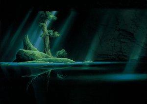 Rating: Safe Score: 62 Tags: forest ghibli mononoke_hime tree water User: Oyashiro-sama