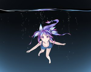 Rating: Safe Score: 138 Tags: bubbles i-19_(kancolle) kantai_collection ninnzinn purple_eyes purple_hair school_swimsuit swimsuit underwater water User: FormX