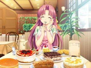 Rating: Safe Score: 104 Tags: aoi_matsuri blush food game_cg koutaro long_hair pink_hair tropical_kiss twinkle User: Wiresetc