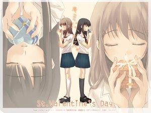 Rating: Safe Score: 9 Tags: kimikiss school_uniform valentine User: Oyashiro-sama