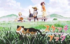 Rating: Safe Score: 8 Tags: animal asou_natsumi cat kajiwara_sora mike sketchbook_full_colors torikai_hazuki User: Oyashiro-sama