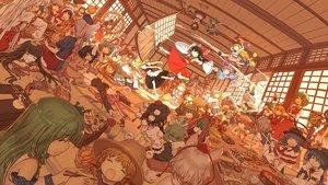 Rating: Safe Score: 169 Tags: aki_minoriko aki_shizuha alice_margatroid animal_ears bunny_ears bunnygirl chen cirno dahuang daiyousei doll doremy_sweet fairy flandre_scarlet food foxgirl fujiwara_no_mokou futatsuiwa_mamizou group hakurei_reimu hat hata_no_kokoro hieda_no_akyuu hijiri_byakuren hinanawi_tenshi houjuu_nue hourai houraisan_kaguya ibara_kasen ibuki_suika imaizumi_kagerou inaba_tewi inubashiri_momiji izayoi_sakuya japanese_clothes kagiyama_hina kaku_seiga kamishirasawa_keine kawashiro_nitori kazami_yuuka kijin_seija kirisame_marisa kishin_sagume kochiya_sanae komeiji_satori konpaku_youmu kumoi_ichirin letty_whiterock lunasa_prismriver lyrica_prismriver maid mask medicine_melancholy merlin_prismriver miko miyako_yoshika mononobe_no_futo moriya_suwako motoori_kosuzu murasa_minamitsu myon mystia_lorelei nagae_iku nazrin onozuka_komachi patchouli_knowledge reisen_udongein_inaba remilia_scarlet ringo_(touhou) rope rumia saigyouji_yuyuko seiran sekibanki shameimaru_aya shikieiki_yamaxanadu skirt soga_no_tojiko sukuna_shinmyoumaru su-san tatara_kogasa toramaru_shou touhou toyosatomimi_no_miko tsukumo_benben vampire wakasagihime wings wolfgirl wriggle_nightbug yagokoro_eirin yakumo_ran yakumo_yukari yasaka_kanako User: Flandre93