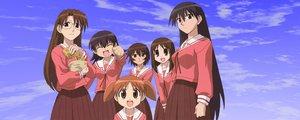Rating: Safe Score: 8 Tags: azumanga_daioh dualscreen kagura kasuga_ayumu mihama_chiyo mizuhara_koyomi sakaki takino_tomo User: Oyashiro-sama