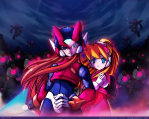 Rating: Questionable Score: 24 Tags: capcom ciel rockman zero User: 秀悟