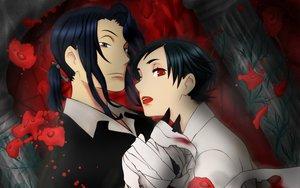 Rating: Safe Score: 8 Tags: blood_(anime) haji otonashi_saya User: atlantiza