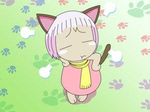 Rating: Safe Score: 14 Tags: animal_ears catgirl guu jungle_wa_itsumo_hale_nochi_guu vector User: Oyashiro-sama
