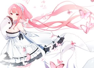 Rating: Safe Score: 23 Tags: anthropomorphism azur_lane breasts butterfly cleavage dress headband lolita_fashion long_hair myao_(o3o333) no_bra perseus_(azur_lane) pink_hair twintails User: BattlequeenYume