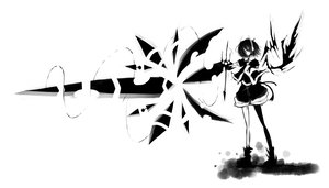Rating: Safe Score: 32 Tags: gachapoid green_eyes monochrome ruu vocaloid User: HawthorneKitty