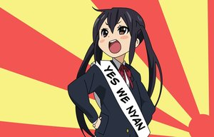 Rating: Safe Score: 96 Tags: black_hair jpeg_artifacts k-on! long_hair nakano_azusa uniform User: Animeticklesmytoes