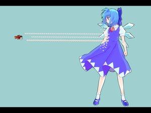 Rating: Safe Score: 45 Tags: blue_eyes blue_hair cirno cyan fairy hakurei_reimu japanese_clothes miko ribbons short_hair touhou wings yasuyuki User: korokun