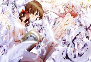 Rating: Questionable Score: 119 Tags: book feathers guilty_crown megami menjou_hare nude shibuya_sakae yuzuriha_inori User: Wiresetc