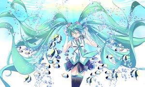 Rating: Safe Score: 44 Tags: animal bubbles fish hatsune_miku renka_(renkas) vocaloid User: FormX