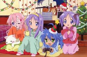 Rating: Safe Score: 19 Tags: christmas hiiragi_kagami hiiragi_tsukasa izumi_konata lucky_star takara_miyuki User: Oyashiro-sama